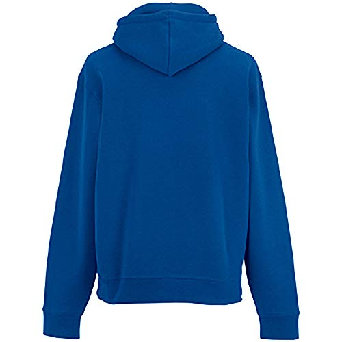 Russell Mens Authentic Hooded Sweatshirt / Hoodie (S) (Convoy Grey)