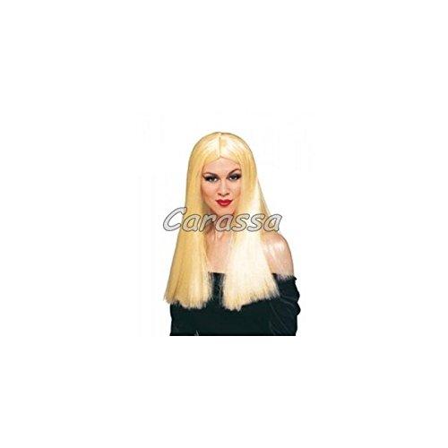 Rubies - Peluca rubia de bruja, accesorio disfraz para adultos
