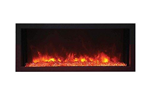 Amantii BI-30 Extraslim indoor or outdoor electric fireplace