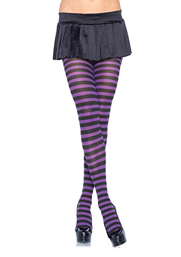 Leg Avenue Women's Nylon Striped...