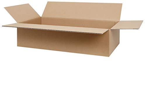 100 Faltkartons 600 x 300 x 150 mm | 1-welliger Versandkarton | Kartons geeignet für Versand mit DPD, GLS und Hermes