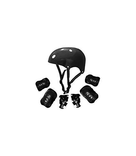 Grupo K-2 - Protección Patinaje | Protección Infantil | Kit de Casco Ajustable, Rodilleras y Coderas | Patinaje, Ciclismo, Monopatín, Deportes Extremos, Scooter | Modelo Kr-006