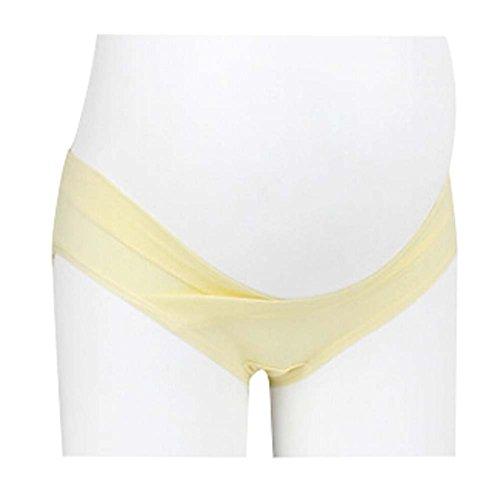 Vêtements pour femmes Sous-vêtements de maternité enceinte jaune XXL