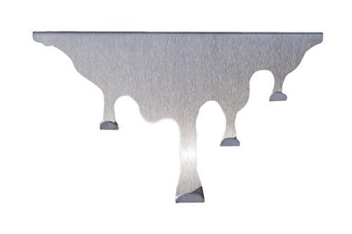 Frohliaw Türhakenleiste Edelstahl ohne Bohren Garderobenhaken Kleiderhaken Handtuchhalter Türgarderobe Jetzt zum stylischen Design