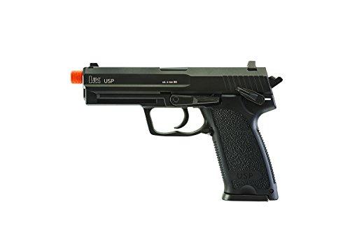 Elite Force HK Heckler & Koch USP 6mm BB Pistol Airsoft Gun, Blowback Action, Black, One Size (2275043)