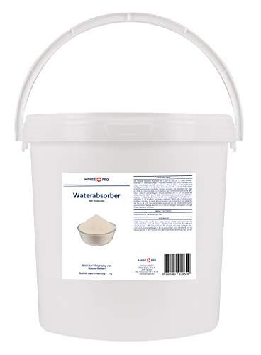 BFT Superabsorber Hansepro Gel-Granulat für Gelbetten & Wasserbetten, 7 kg I Vergelung von Wasserkernen I Gelierung I Beruhigt und verfestigt Wasserbetten-Matratzen