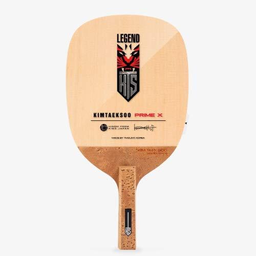 TMOUNT Kim TAEK SOO Prime X - Performance Table Tennis Blade - Professional Ping Pong Paddle - Japanese Style Penhold Blade - Made in Korea