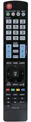 Universele afstandsbediening voor LG TV - AKB72914209