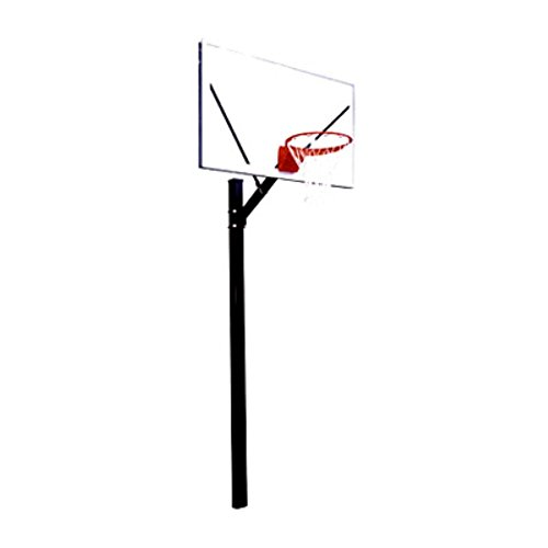 First Team Sport Select Fixed Height Inground Basketball System - 60 Inch Acrylic Backboard