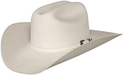 RESISTOL Men s 2X Pageant Wool Felt Cowboy Hat White 7 product image