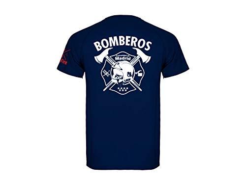 CrossFire Camiseta de Bombero Técnica de la Comunidad de Madrid de Hombre (L)