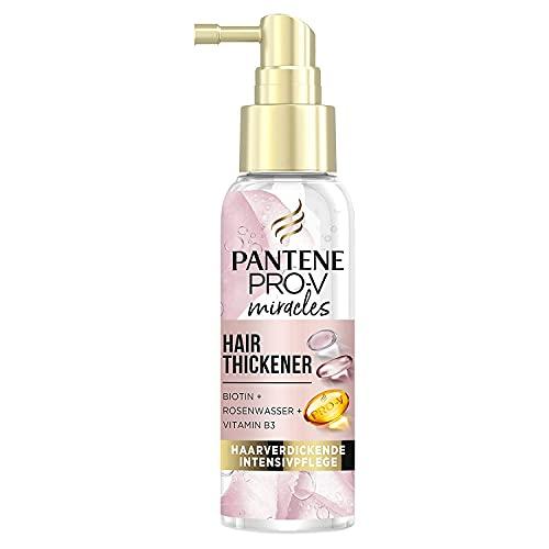 Pantene Pro-V Miracles Hair Thickener Haarverdickende Intensivpflege mit Biotin + Rosenwasser + Vitamin B3, Haarpflege, Beauty, 100ml