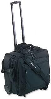 Targus TCG717 CityGear Rolling Travel Laptop Case, Nylon, 18 x 10 x 15, Black/Silver