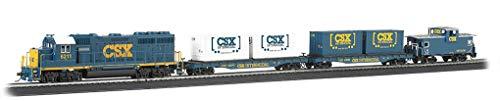 Bachmann Trains - Coastliner Ready To Run Electric Train Set - HO Scale