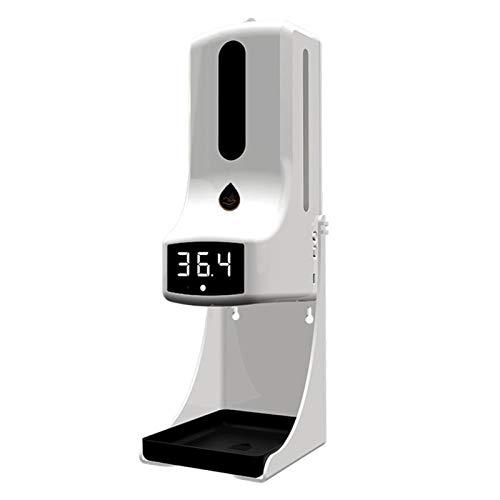 LaiYueShangMao Termómetro de Pared K9 Pro con dispensador de jabón, con Alarma, Adecuado para su Uso en oficinas, escuelas de Origen y comunidades para perfumes, fragancias, champú (Color : Style 2)