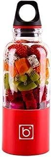 ZH~K Portable Presse-Agrumes électriques Fruit Juicer électrique 500Ml 4 Lame Blender Juicer Machine électrique Mixer USB ...