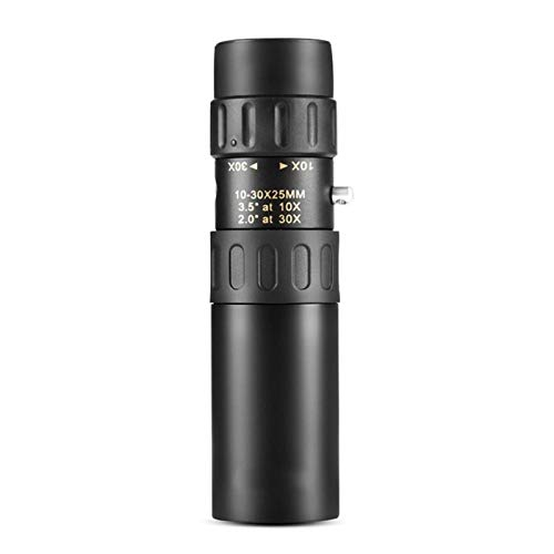 Original-Ferngläser Nikula 10-30x25 / PF-003 Zoom-Monokular-Hohe Qualität Teleskop-Tasche Binoculo-Jagd Optischer Prismen-Umfang XBQLY (Color : 10 30x25 no Tripod)