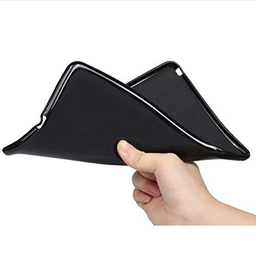 QIJUN para Samsung Galaxy Tab 2 P5100 P5110 Funda con Tapa para Tableta Fundas para Tab2 10.1 P7500 P7510 Cubierta Protectora Suave-Cáscara Blanda