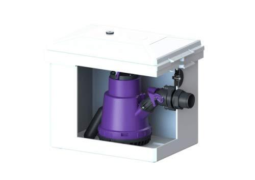 KESSEL Hebeanlage Minilift S KTP 300, resistant, freie Aufstellung 28560C