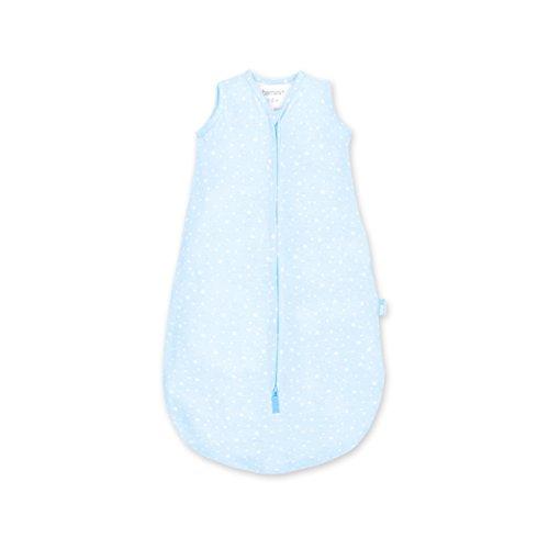 BEMINI slaapzak Magic Bag zonder mouwen, collectie Jersey 0/6 mois étoiles/bleu pale