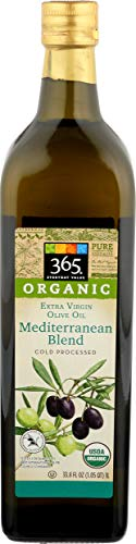 365 Everyday Value, Organic Extra Virgin Olive Oil, 100% Mediterranean Blend, 33.8 fl oz