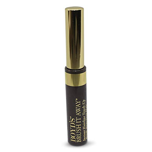 Boyd s Brush It Away Grey Hair Mascara and Root Touch Up (Dark Brown)