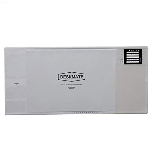 YUMUO multifunctionele bureaublad, microvezel muismat bureau beschermer waterdichte mat schrijven pad bureau mat voor kantoor en thuis