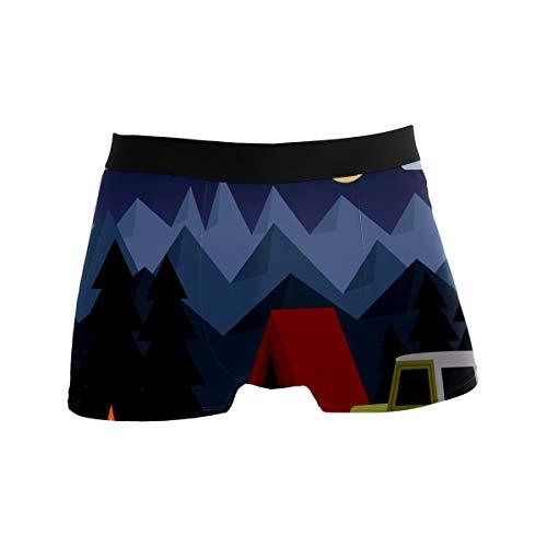 Calzoncillos de hombre Boxer ropa interior calzoncillos cómodos masculinos pantalones cortos deportivos...