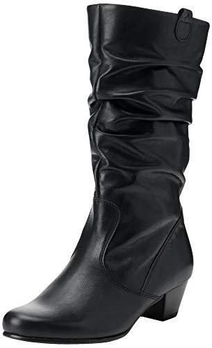 Gabor Damen Comfort Basic Hohe Stiefel, Schwarz (Schwarz (Micro) 57), 40 EU