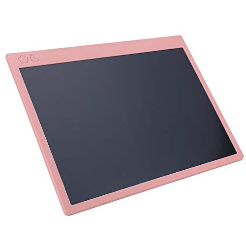 Tablero de Escritura LCD de 16'', Bloc de Notas sin Papel para Escribir a Mano Bloc de Notas de Colores Tabletas para Niños Tablero de Dibujo para el Trabajo en Casa, la Escuela, la Oficina(Rosa)