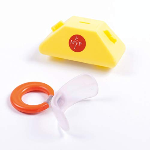 Dr. Hinz Dental Muppy Mundvorhofplatte Standard, transparent/elastisch, Größe 1 (Milchgebiss), bei neutraler Bisslage
