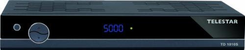 Telestar TD 1010 S digitaler DVB-S Satelliten-Receiver (2X Scart, elektrischer Digitalausgang) schwarz