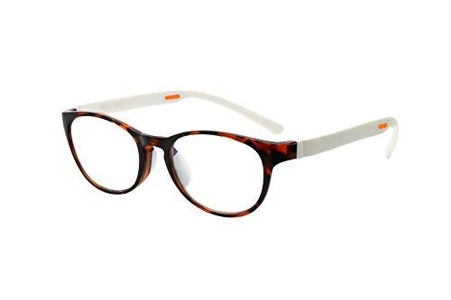 FLOAT READING フロート リーディング (老眼鏡) テンプル(腕)のカラーを選べる グッドデザイン賞受賞のオシャレな老眼鏡 鯖江企画 驚きの掛け心地 首にも掛けれる ブルーライトカット 超軽量 モデル:ウッド (ウッド + ホワイト, 度数+1