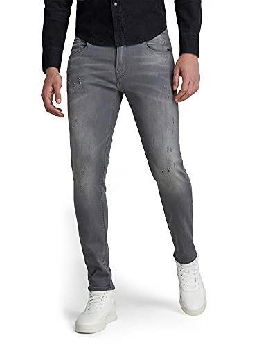 G-STAR RAW Revend Skinny Jeans, Light Aged Destroy, 34W / 32L Homme