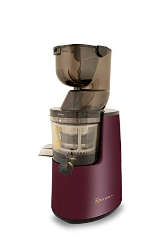 Nebula Grande Whole Fruit Cold Press Slow Masticating Juicer 45RPM 5 Year Warranty (Deep Red)