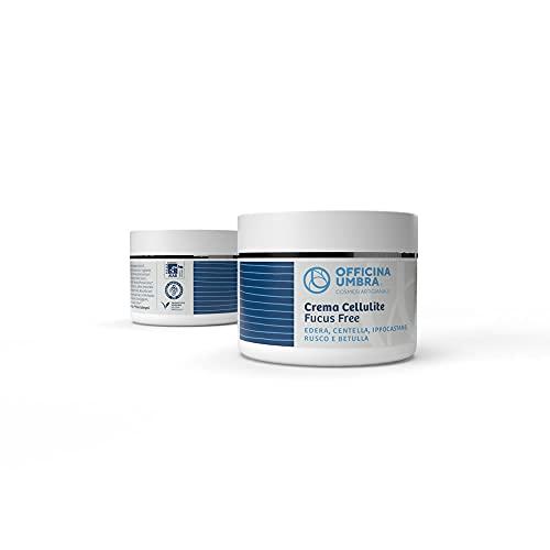 Fucus Free Crema corporal anticelulítica 250 ml tonificante, hidratante, estimulante, adelgazante y drenante, Piernas, Cuerpo - Anticelulitis - Apto para quienes padecen de tiroides