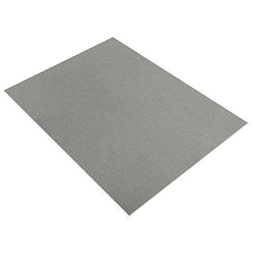 Rayher 3394225 Crepla Platte, 20x30x0,2cm, grau