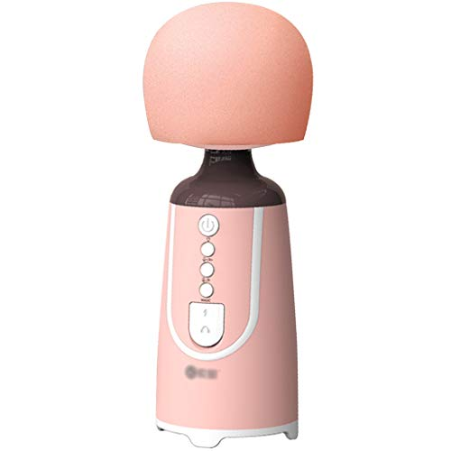 YHRJ Micrófono Raqqa Ok para Viajes al Aire Libre,Equipo de grabación de música para teléfonos móviles,Tarjeta de Sonido incorporada/Luces de Colores parpadeando (Color : Pink, Size : 18.6 * 6.2cm)