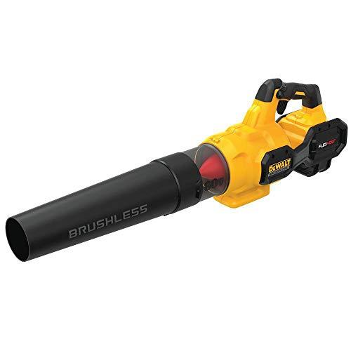 DEWALT 60V MAX FLEXVOLT Leaf Blower, Cordless, Handheld, 125-MPH, 600-CFM, Tool Only (DCBL772B)