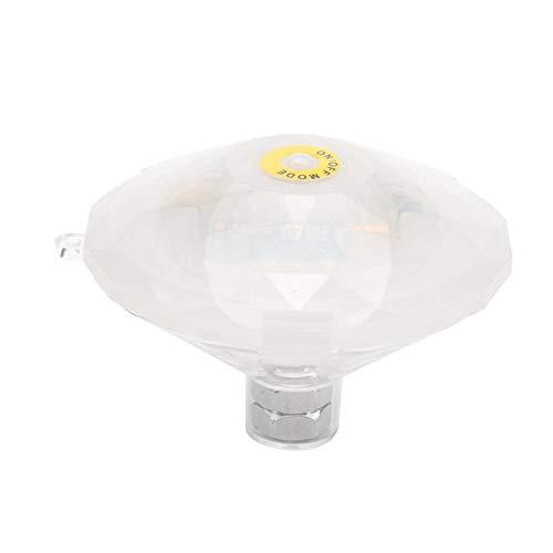 Riuty Unterwasser-LED-Licht, LED-Schwimmlicht Schwimmendes Licht Schwimmbecken-Licht Unterwasser-LED-Licht-Wannen-Badekurort-Lichter