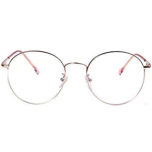 ROSA&ROSE Gafas para Ordenador Anti luz Azul - Gafas con Filtro de luz Azul bloqueo de luz azul Evita la Fatiga Ocular para Hombre & Mujer