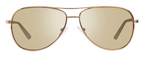 Revo Womens Polarized Sunglasses Relay Aviator Frame