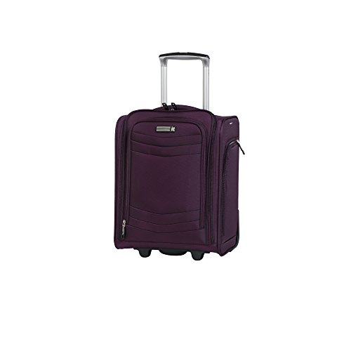 "it luggage Intrepid 16.9"" 2 Wheel Carry-On, Potent Purple"