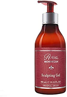 Royal Moroccan Formula - Sculpting Gel (300 ml) - Base of Moroccan Argan oil, For color – Treated Hair