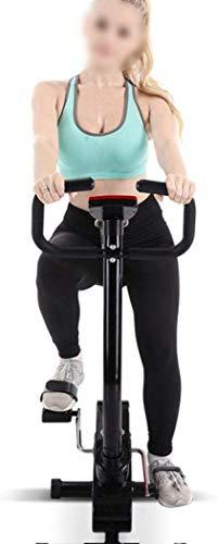 Maheegu Las Bicicletas Plegables, Medio Bicicleta estática Horizontal, Material Deportivo, Ideal para Instructor de aeróbicos,Black