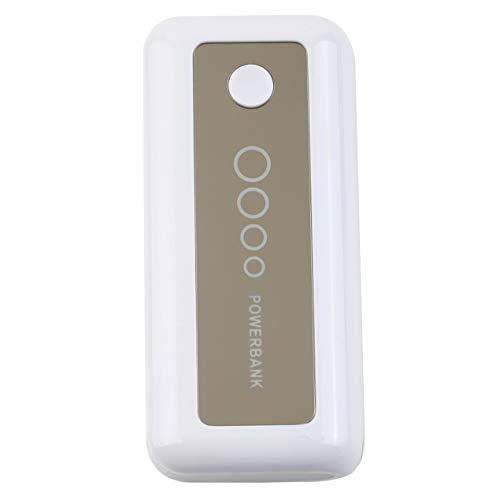 Longspeed Nuevo 5600mAh Power Bank Cargador portátil para teléfono móvil Cargador de batería Batería Externa para teléfono móvil iPhone Venta al por Mayor - Blanco