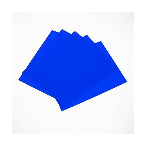 Pellicola blu Press n Peel per la realizzazione di circuiti stampati senza bromografo - 5 pezzi