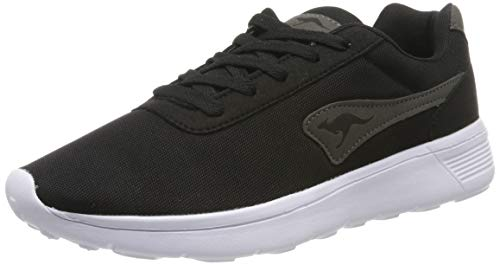 KangaROOS Unisex K-Move Sneaker, Schwarz (Jet Black 5001), 44 EU