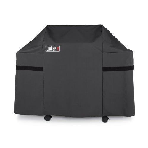 Weber Abdeckhaube Premium für Genesis Gas Grills, schwarz