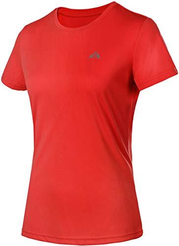 Women's Short Sleeve Shirt Sun Protection SPF Lightweight Quick Dry T-Shirts Workout Hiking Running